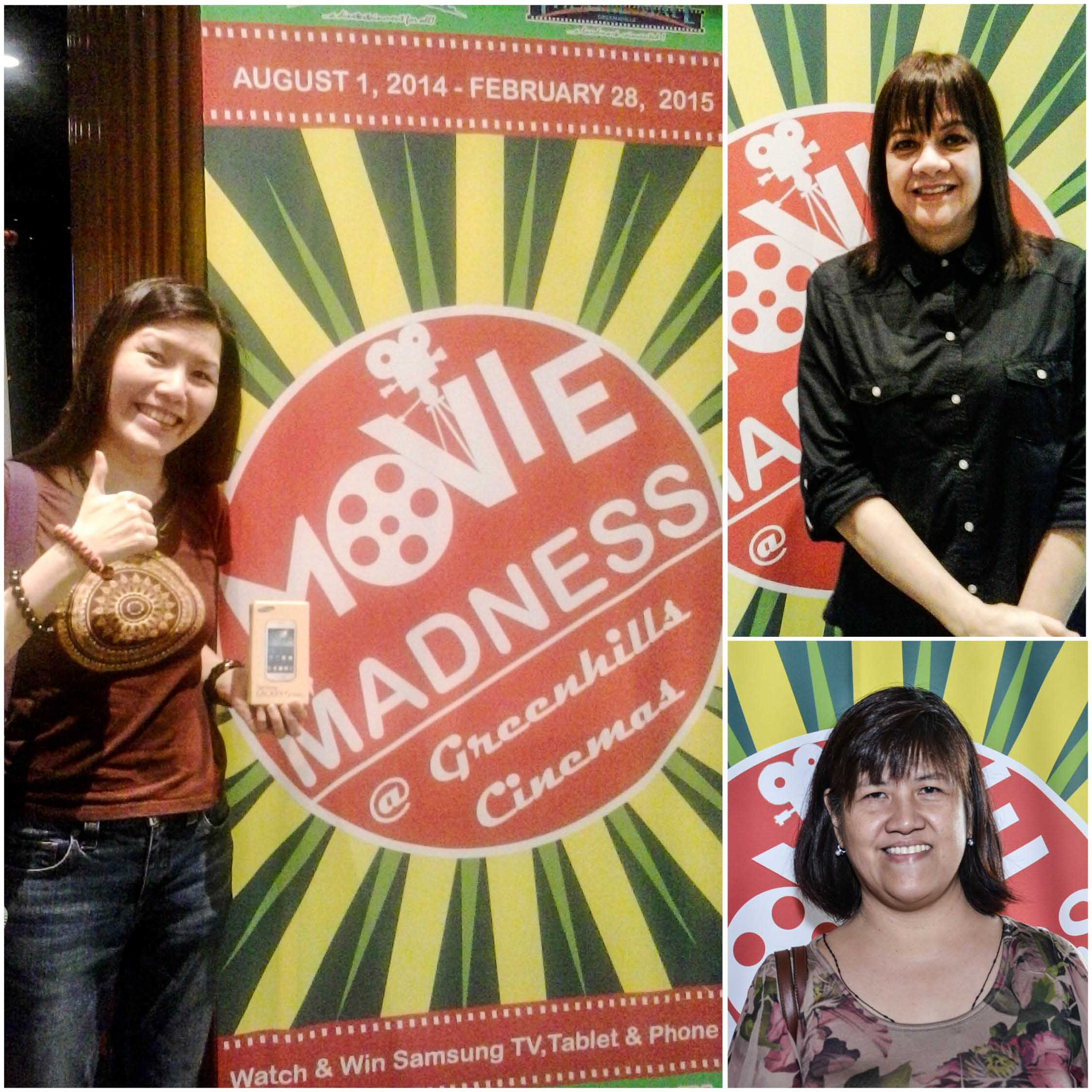 greenhills cinemas hails first movie madness promo winners