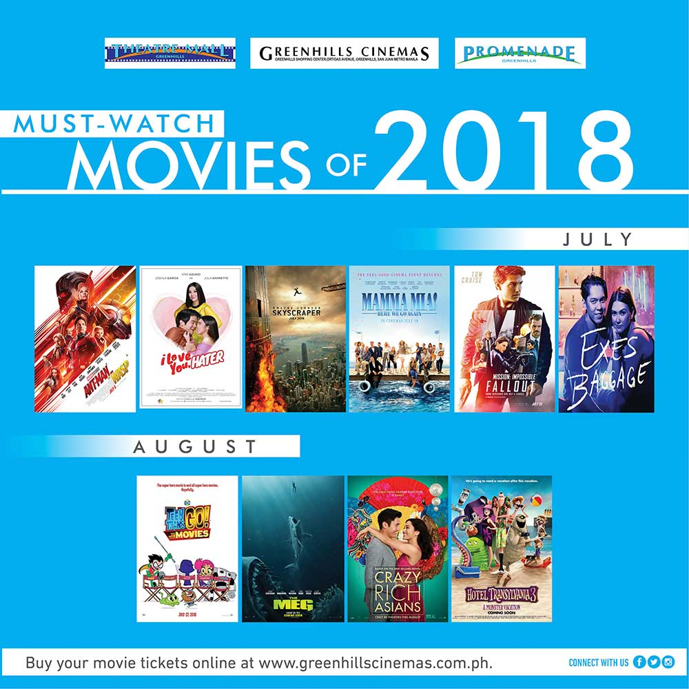 165501148ce38 Movies to suit your every mood in July and August « Music Museum Group