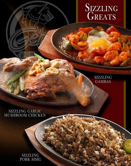 Gerry's Grill - sizzling